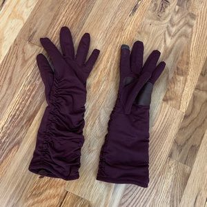 Echo Extra Long Ruched Winter Gloves